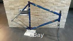 Italian Dedacciai 18 MCDV 6 steel road bicycle frame frameset fork 57 55 cm VGC