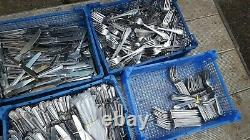 Joblot over 1100 pieces mix quality Cutlery Catering Dinner Knive Forks spoons