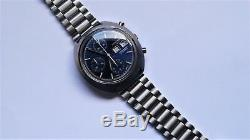 LONGINES Ultronic Chronograph ref 2362-4 vintage watch tuning fork Serviced