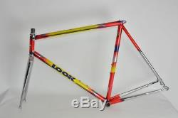 LOOK KG243 TEAM steel road frame and fork! COLUMBUS NEURON! Very rare