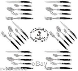 Laguiole Dubost 30 Pcs Cutlery Dinner Set (For 6 People) knives, forks, spoons
