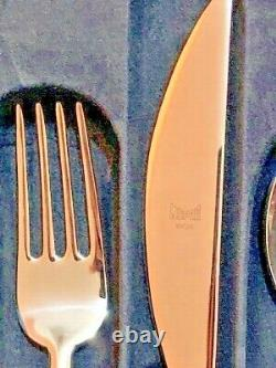 MEPRA Due Cutlery Set 24 Piece Place Setting, Stainless Steel