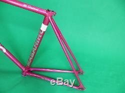 Makino NJS Keirin Pista Frame Track Bike NO FORK Fixed Gear 47cm