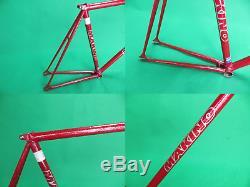 Makino NJS Keirin Pista Frame Track Bike NO FORK Fixed Gear 54cm