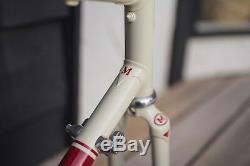 Marinoni Columbus SLX Bike Frame Fork 700c High-End Lugged Steel Racing Frameset