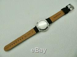 Mens VTG 1972 Bulova Accutron Bow Tie Lugs Electronic Tunning Fork Wristwatch