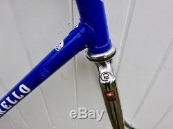 Mid 1990s Restored Pinarello Treviso Columbus steel frame, fork & headset 57cm