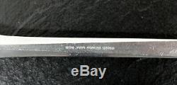 Mid Century Modern Georg Jensen Prism Flatware Set Stainless Steel Forks Danish