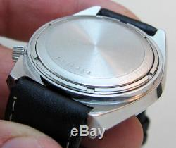 Mint Serviced 2182 Accutron Bulova Stainless Steel Tuning Fork Men's Watch N6