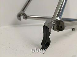 Moda Reynolds 953 stainless steel road bike Frame and carbon Easton aero fork