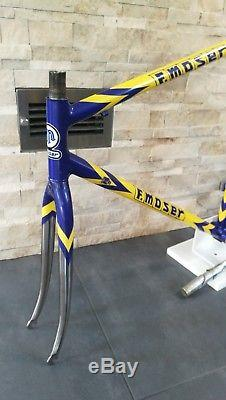 Moser Leader Dedacciai 18MCDV6 HT steel road bicycle frameset frame fork 56 55