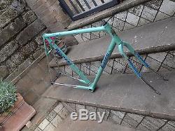 NOS Bianchi Columbus Cromor frame&fork steel L'Eroica