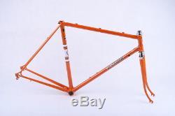 NOS Orange Legnano Gran Premio frame and fork, 54 c-c