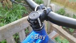 NS Bikes Eccentric Cromo 29er MTB frame, Fox Rhythm 34 fork