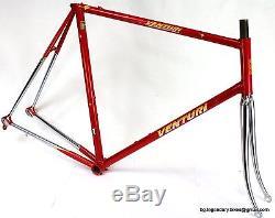 N. O. S. Racing bike Frame Fork set VENTURI COLUMBUS SLX Lugged Steel BIG