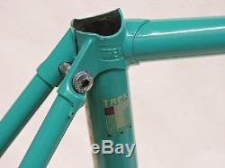 Near Mint 54 cm Vintage Trek 770 Reynolds 531c Frame & Fork Made in the USA