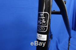New 2017 Trek 520 Disc Brake Steel Touring, Road Bike Frame & Fork 51cm