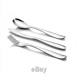 New Studio William Bodhi Satin 42 Piece Cutlery Set Stainless Steel Knife Fork