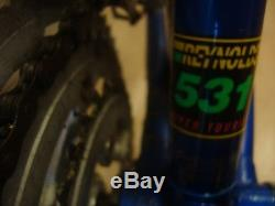 Nigel Dean World Tour 531 gents touring bike steel Reynolds frame and forks 57cm