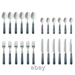 OKA Harlequin Cutlery Set 24 Piece NEW