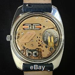 OMEGA Electronic Genève F300Hz Ref 198.030 Tuning Fork 38mm Date Chronometer