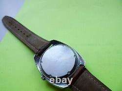 OMEGA Geneve Chronometer Electronic f300Hz Tuning Fork Vintage 1970 Gent's Watch