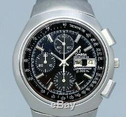 OMEGA Speedsonic Mirror Dial 388.0800 Tuning Fork Quartz Vintage Watch 1974's