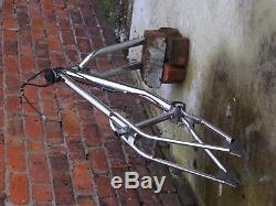 Old Mid School BMX Frame and forks GT performer 96, headset and gyro Chrome 90s