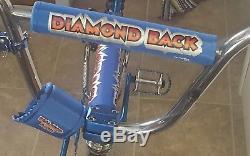 Old School 1980 Koizumi Diamond back Pro Large BMX Rare Double Drop Fork