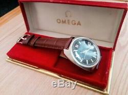 Omega F300HZ tuning fork 9162 wristwatch. 37mm
