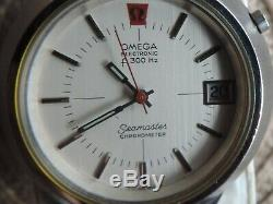Omega Seamaster Cone Tuning Fork f300Hz Date