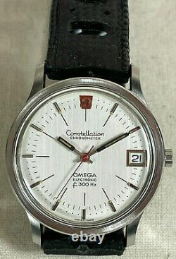 Omega constellation electronic f300 Hz 1970 Tuning Fork 198.0003 Fully Working
