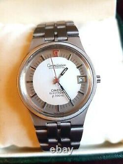 Omega electronic F-300Hz Constellation Chronometer (tuning fork watch)