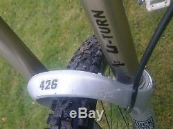 On One 456 steel mountain bike 26 wheel 18 frame with Rock Shox Pike fork
