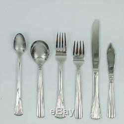 One family Starter collection 66 piece of Stainless steel Knives, Spoons and fork