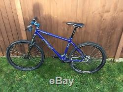 PACE RC104 Bike number 83, RC39 Stealth Fork, Carbon Bars RaceFace HOPE Thompson
