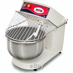 Professional Fork dough mixer 50 litres 45kg Stainless steel bowl guard 3 PHASE