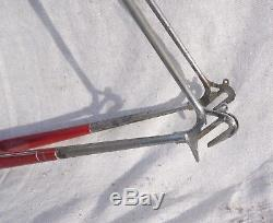 RARE 1940s/50s PARIS GALIBIER FRAME WITH TWO SPARE FORKS