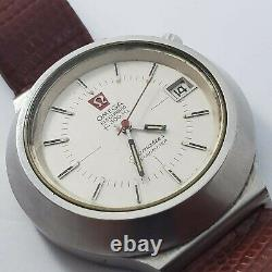 RARE 1970's Omega Seamaster Cone 198.012 Tuning Fork f300Hz date at 2