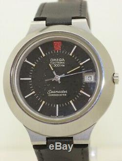 RARE 95% NOS Stainless Steel Omega Seamaster Cone 198.0008 Tuning Fork f300Hz