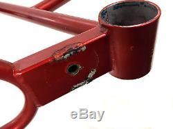 RARE Old School BMX 1979 RED Gary Littlejohn 26 Ladies Cruiser Frame & Fork Set