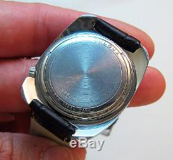 Rare Serviced 218 Accutron Two Tone Stainless Steel Tuning Fork Mens Watch N0