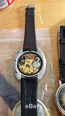 Rare Serviced Vintage Accutron 218d Stainless Steel Tuning Fork Mens Watch M5