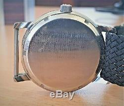 RARE! Vintage SS Eterna Sonic Railroad Tuning Fork watch cal 1550 (ESA9162)