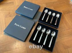 Ralph Lauren Home Academy 8 Setting Cutlery Set Hostess Salad Servers New Boxed
