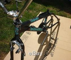 Rare! Hoffman'Sugar Baby' BMX bike frame, 1 forks, stem,'Low Drag' handlebars