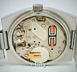 Rare Rado Electrosonic SS Tuning Fork watch ESA 9164