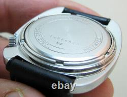 Rare Serviced 2181 Accutron Bulova Stainless Steel Tuning Fork Men's Watch N0