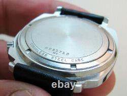Rare Serviced 2181 Tv Accutron Bulova Stainless Steel Tuning Fork Men's Watch N1