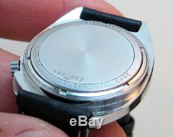Rare Serviced 2182 Accutron Bulova Stainless Steel Tuning Fork Men's Watch M9